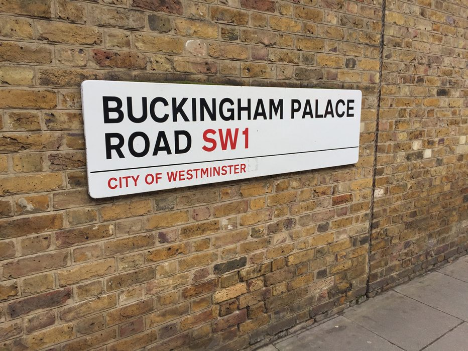 Buckingham Palace Road