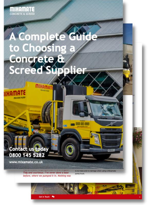Concrete & Screed Supplier